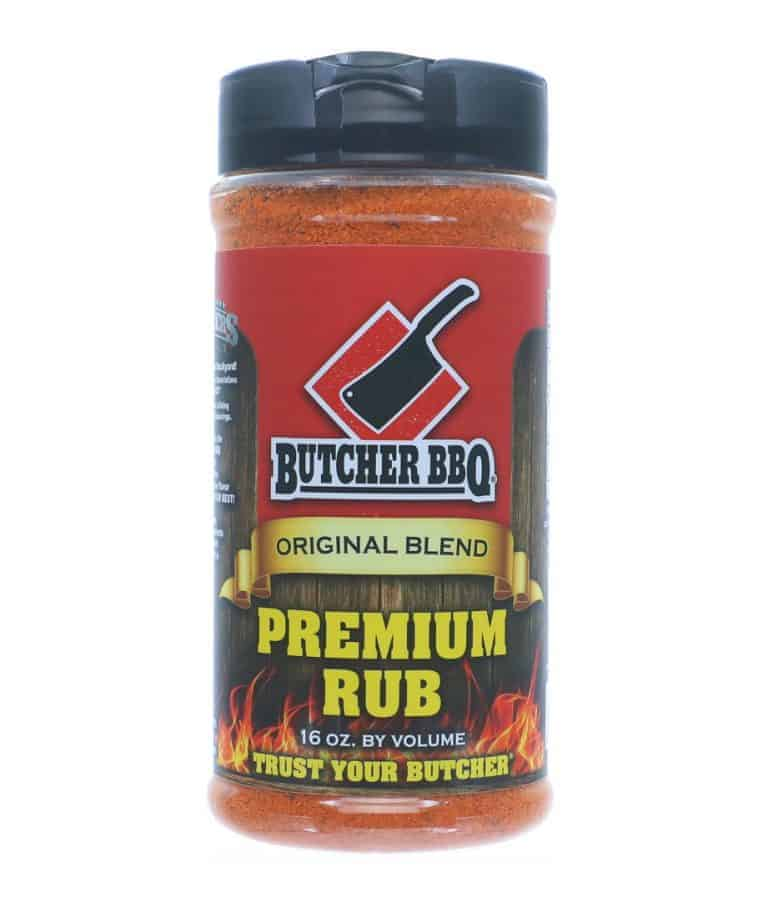 Butcher BBQ Premium Rub – 387g (16oz by vol)