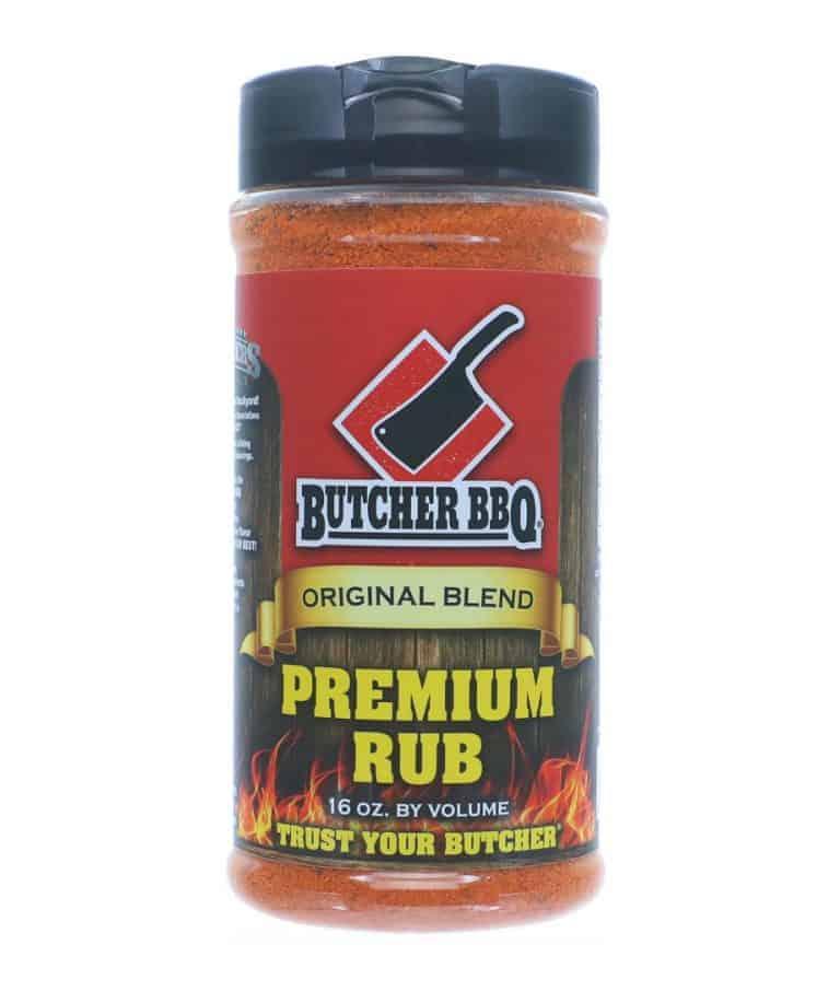 Butcher BBQ Premium Rub – 387g (16oz by vol)