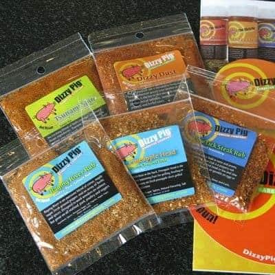 Dizzy Pig BBQ 'Bombay Curry-ish' Rub (Sample Pack)