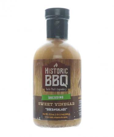M022 - Historic BBQ Sweet Vinegar 'Sides & Salads' Dressing - 496g (17.5 oz)01