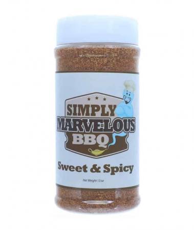 R102 – Simply Marvelous 'Sweet & Spicy' Rub – 368g (13 oz)01