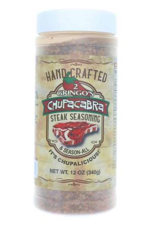 R622 - 2 Gringos Chupacabra 'Steak Seasoning' Rub - 340g (12 oz)01