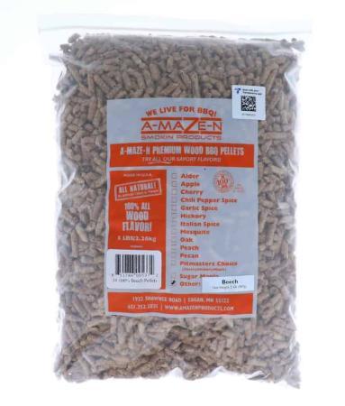 A007 - A-Maze-N Wood BBQ Pellets - Beech - 2260g (5lb - 80 oz)