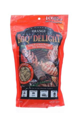 A048 – BBQr's Delight BBQ Pellets – Orange – 453g (16 oz)01