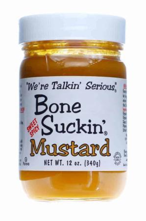B006 - Bone Suckin' Mustard (Sweet Hot) - 340g (12 oz)01