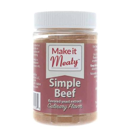 I033 – Make it Meaty Simple Beef Yeast Extract – 325g (11.4 oz)01