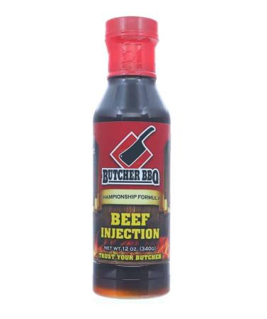 I050 - Butcher BBQ Liquid Brisket Injection - 340g (12 oz) - with FREE Injector01