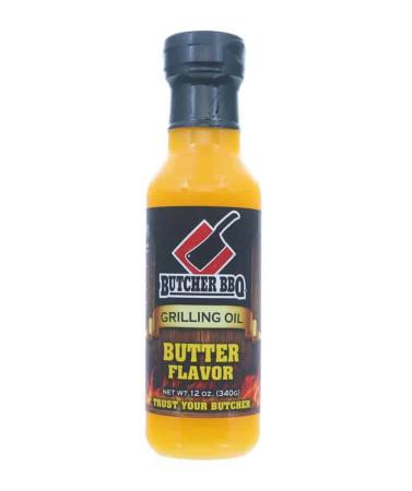 M007 – Butcher BBQ Grilling Oil – Butter – 340g (12 oz)01