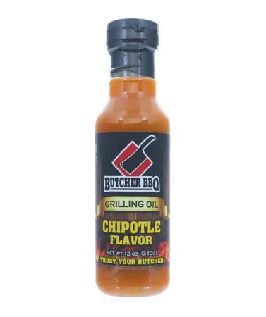 M008 – Butcher BBQ Grilling Oil – Chipotle – 340g (12 oz)01