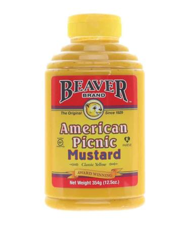 M011 – Beaver Brand 'American Picnic' Mustard – 354g (12.5 oz)01