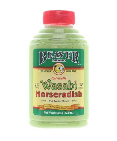 M015 – Beaver Brand Wasabi Horseradish – 354g (12.5 oz)01