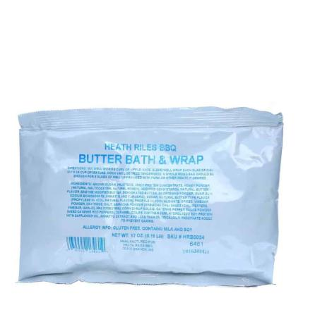 M030 - Heath Riles BBQ Butter Bath and Wrap - 340g (12 oz)