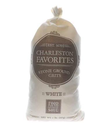 N008 - Charleston Favorites Stone-Ground White Hominy Grits - 907g (32 oz)01