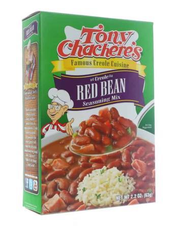 N017 - Tony Chachere's Red Beans Seasoning Mix - 62g (2.2 oz)12