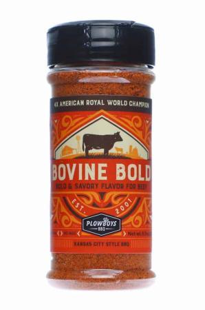 R038 - Plowboys BBQ 'Bovine Bold' Rub - 184g (6.5 oz)01