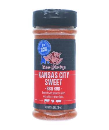 R056 - Three Little Pigs BBQ 'KC Sweet' BBQ Rub - 178g (6.28 oz)01