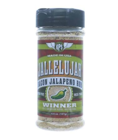 R094 – Big Poppa Smokers 'Jallelujah' Bacon Jalapeno Rub – 187g (6.6 oz)01