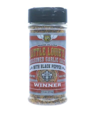 R098 – Big Poppa Smokers 'Little Louie's'Garlic Salt with Black Pepper – 212g (7.5 oz)01