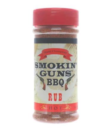 R265 – Smokin' Guns BBQ 'Hot' Rub – 198g (7 oz)01