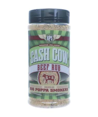 R291 – Big Poppa Smokers 'Cash Cow' Rub – 368g (13 oz)01