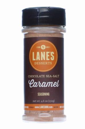R637 - Lane's Desserts Chocolate Sea-Salt Caramel Seasoning - 130g (4.6 oz)01