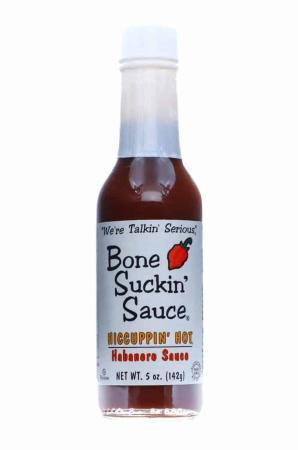S063 - Bone Suckin' Habanero Sauce - 141g (5 oz)01