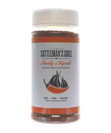Cattleman's Grill 'Smoky Chipotle' Coffee Steak Seasoning – 311g (11 oz)