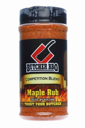 R670 - Butcher BBQ Maple Rub - 458g (16oz by vol)01