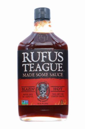 S020 - Rufus Teague 'Blazin' Hot' BBQ Sauce - 453g (16 oz)01