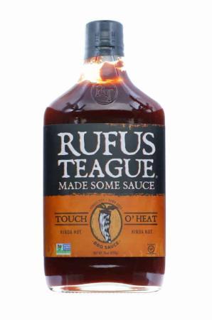 S024 - Rufus Teague 'Touch o' Heat' BBQ Sauce - 453g (16 oz)01