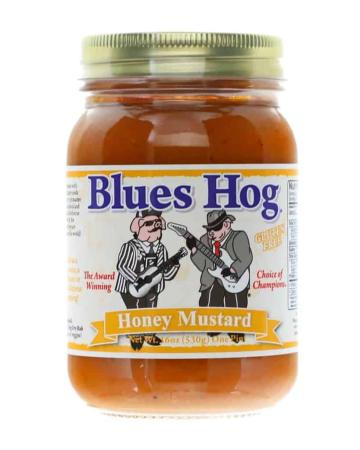 S035 – Blues Hog 'Honey Mustard' BBQ Sauce – 0.473 l (1 US Pt – 16 oz)01