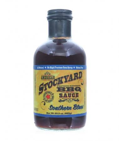 S050 – American Stockyard Southern Blues BBQ Sauce – 665g (23.5 oz)01