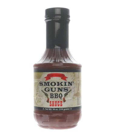 S108 – Smokin' Guns BBQ Sauce – 510g (18 oz)01