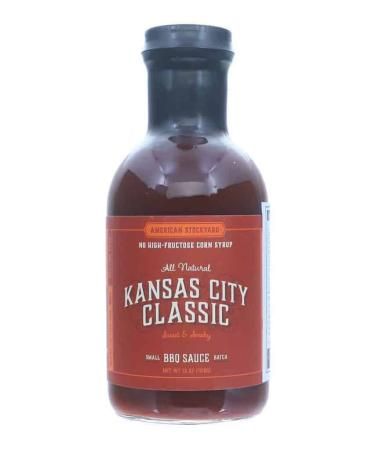 S220 - American Stockyard KC Smoky Sweet BBQ Sauce - 425g (15 oz)01