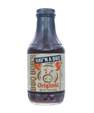 S058 – BBQ Bob's Hav'n-a-BBQ Original BBQ Sauce – 538g (19 oz)01