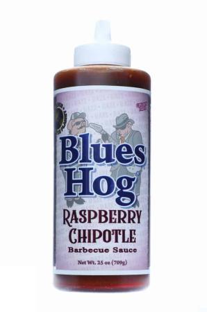 S345 - Blues Hog BBQ 'Raspberry Chipotle' BBQ Sauce (Squeeze Bottle) - 708g (25 oz)01