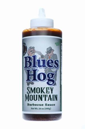 S344 - Blues Hog BBQ 'Smokey Mountain' BBQ Sauce (Squeeze Bottle) - 680g (24 oz)01