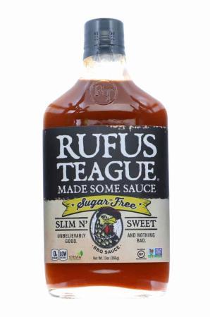 S319 - Rufus Teague 'Slim N' Sweet' Sugar-Free BBQ Sauce - 369g (13 oz)01