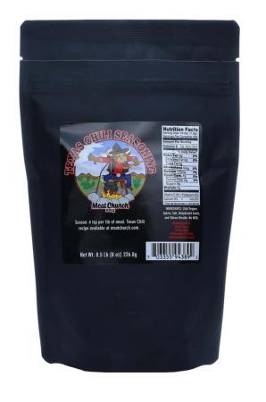R689 - Meat Church Texas Chili Seasoning - 226.8g (8 oz)