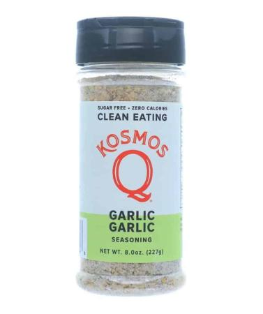 R588 - Kosmo's Q 'Garlic Garlic' Clean Eating Seasoning - 227g (8 oz)01