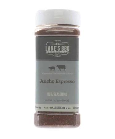 R600 – Lane's BBQ Ancho Espresso Rub – 453g (16 oz)01