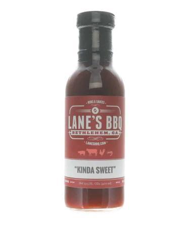 S282 - Lane's BBQ 'Kinda Sweet' Sauce - 382g (13.5 oz)01