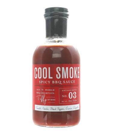 S287 - Cool Smoke Spicy BBQ Sauce - 510g (18 oz)01